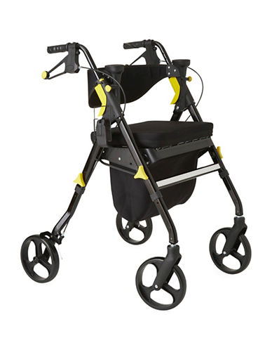 Medline Empower Rollator Walker-BLACK-One Size