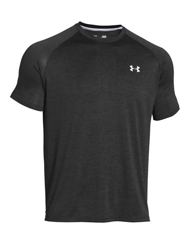 Under Armour Tech Short Sleeve T Shirt-BLACK-Medium 87113493_BLACK_Medium