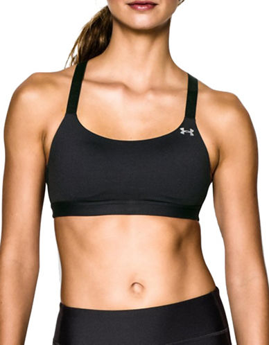 Under Armour Medium Support Armour Shape Bra-BLACK-Large 88511519_BLACK_Large