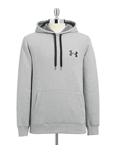 Under Armour AllSeasonGear Loose Fit Hoodie-TRUE GRAY-Small