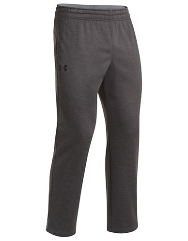 Under Armour Armour Fleece Storm Pants-CARBON HEATHER-Medium 87022014_CARBON HEATHER_Medium