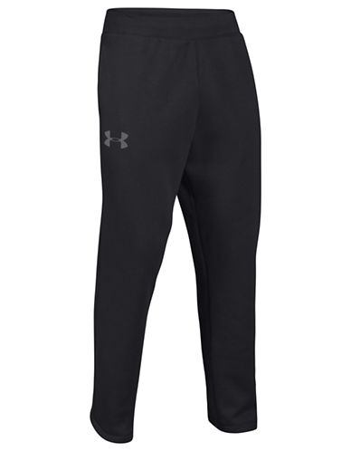 Under Armour Rival Cotton Pant-BLACK-Large