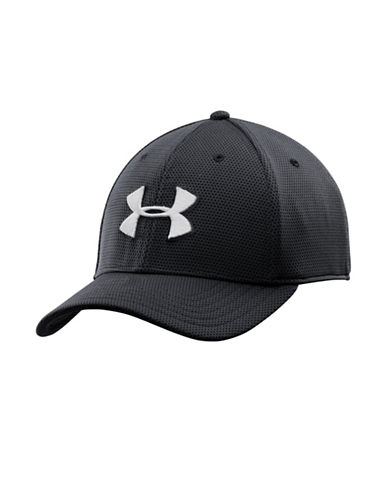 Under Armour Blitzing II Stretch Fit Cap-BLACK-Medium/Large 87866628_BLACK_Medium/Large