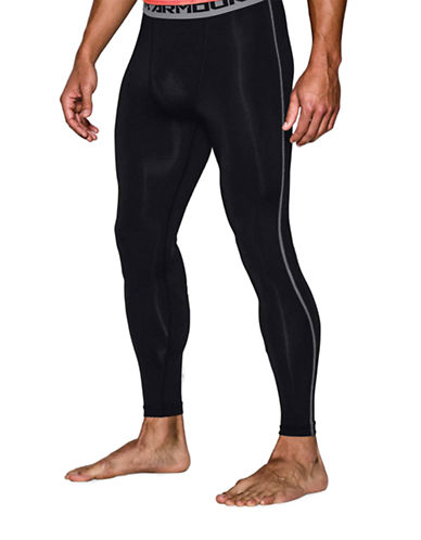 Under Armour Armour Heat GearCompression Legging-BLACK-XX-Large
