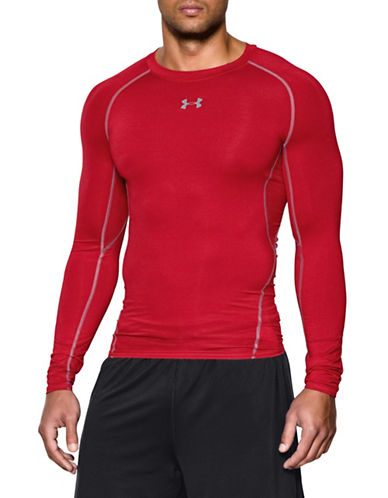 Under Armour Heatgear Compression Tee-RED-Small 89109169_RED_Small