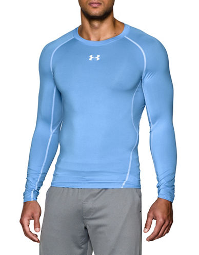 Under Armour Heatgear Compression Tee-BLUE-Large 89109166_BLUE_Large