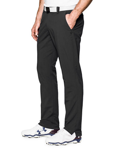 Under Armour UA Match Play Golf Tapered Pants-BLACK-38X32