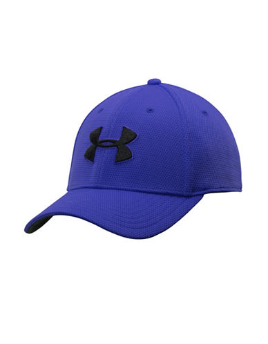 Under Armour Blitzing II Stretch Fit Cap-ROYAL BLUE-Large/X-Large