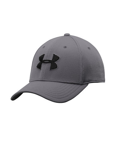 Under Armour Blitzing II Stretch Fit Cap-GRAPHITE-Medium/Large 87866629_GRAPHITE_Medium/Large