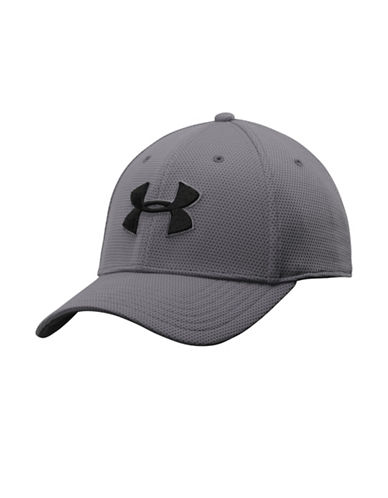 Under Armour UA Blitzing II Stretch Fit Cap-GREY-Large/X-Large 88964668_GREY_Large/X-Large