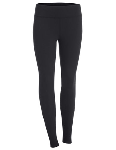 Under Armour Stretch Studio Leggings-BLACK-Medium 87715702_BLACK_Medium