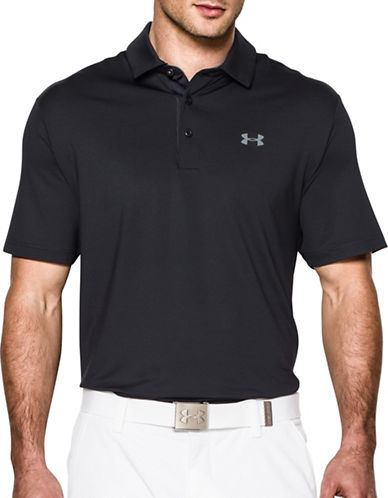 Under Armour Playoff Soft Polo-BLACK-Small