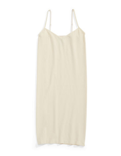 Free People Seamless Mini Slip-IVORY-Medium/Large