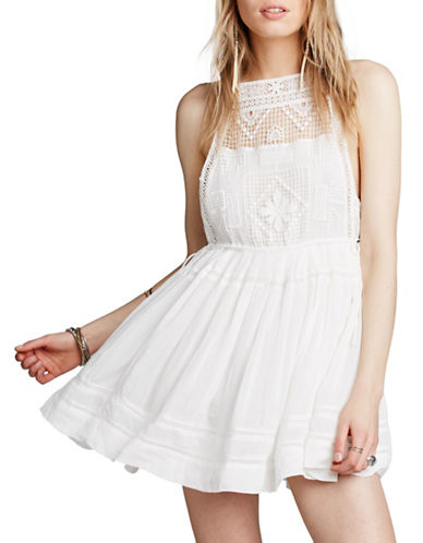 Free People Emily Dress-IVORY-Medium