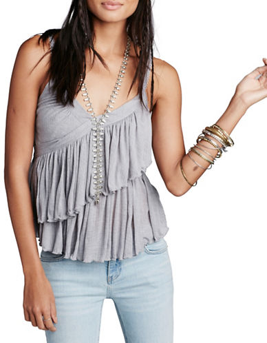 Free People Melbourne Solid Tank-GREY-Small 88482350_GREY_Small
