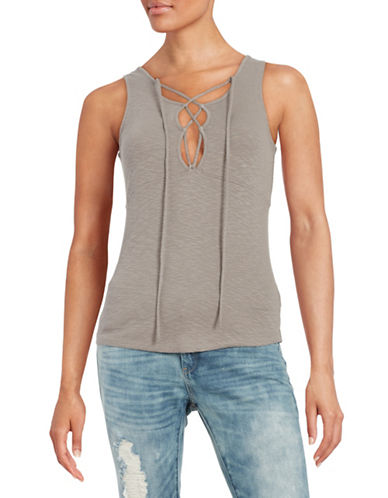 Free People Emmy Lou Top-TAUPE-X-Small