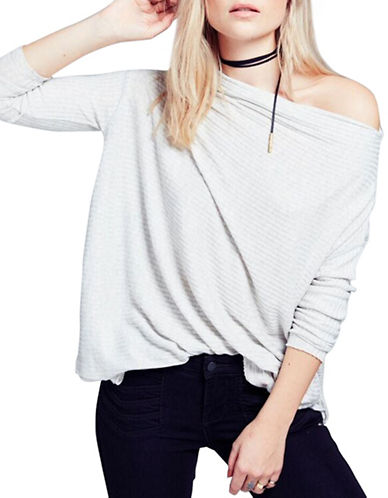 Free People Lover Rib Thermal Top-GREY-Small 88550404_GREY_Small