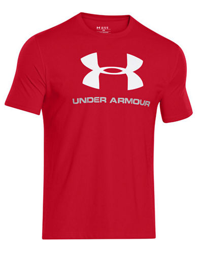 Under Armour Sportstyle Logo T-Shirt-RED-XX-Large 87682248_RED_XX-Large