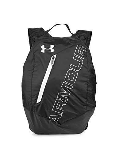 Under Armour Adaptable Backpack-BLACK-One Size