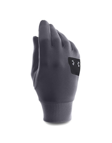 Under Armour Core ColdGear Infrared Liner Gloves-GREY-Medium 87681466_GREY_Medium