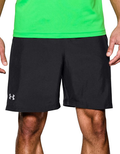 Under Armour Launch Reflective Run Shorts-BLACK-X-Large