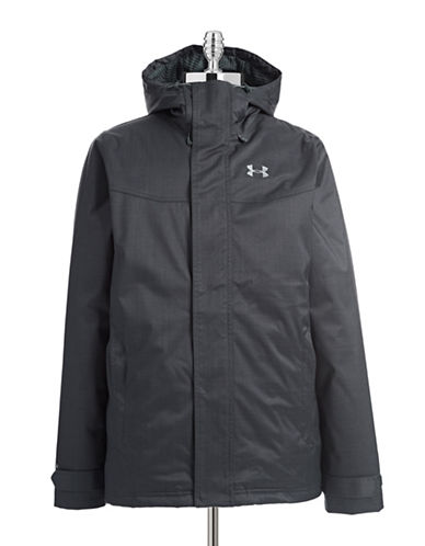 Under Armour CGI Boreal Hooded Jacket-GREY-Large 87906228_GREY_Large