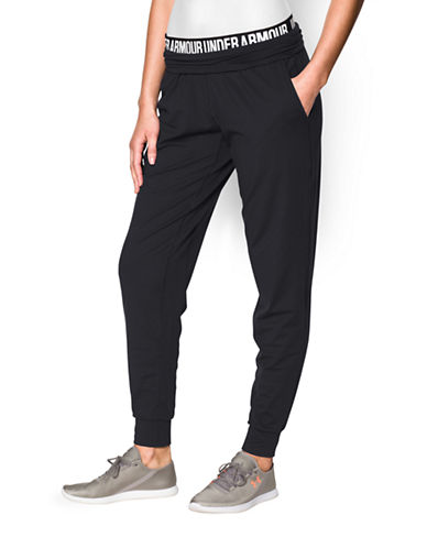 Under Armour Downtown Knit Jogger Pants-BLACK-Small 87815390_BLACK_Small