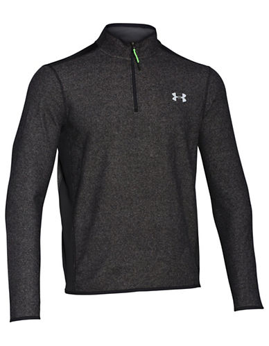 Under Armour ColdGear Infrared Quarter Zip Shirt-BLACK-Large 87801525_BLACK_Large