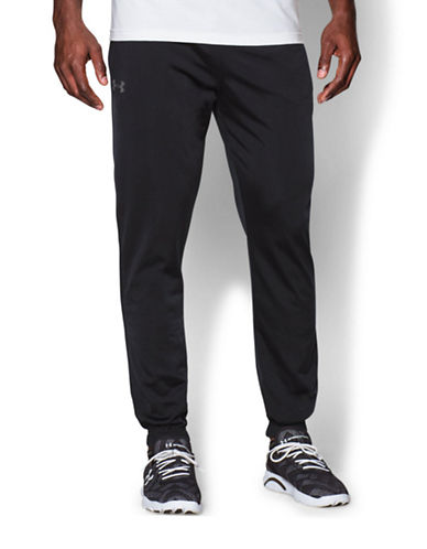 Under Armour Relentless Tapered Pants-BLACK-Large 87679998_BLACK_Large