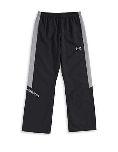 Under Armour Woven Warm-Up Performance Pants-BLACK-Large 87597738_BLACK_Large