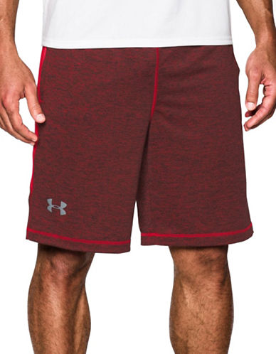 Under Armour UA Raid Printed 10-Inch Shorts-RED-Medium 88767454_RED_Medium