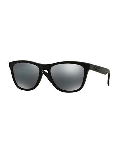Oakley Frogskins Square Sunglasses-MATTE BLACK-One Size