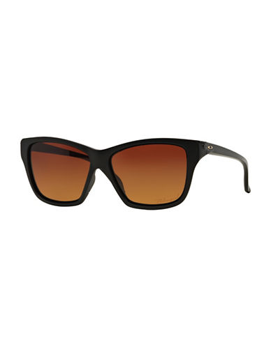 Oakley Hold On Square Sunglasses-MATTE BLACK-One Size
