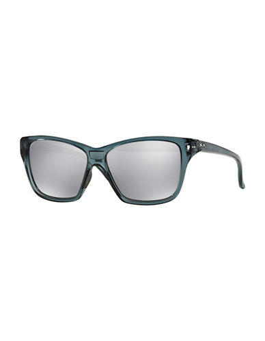 Oakley Hold On Square Sunglasses-CRYSTAL-One Size