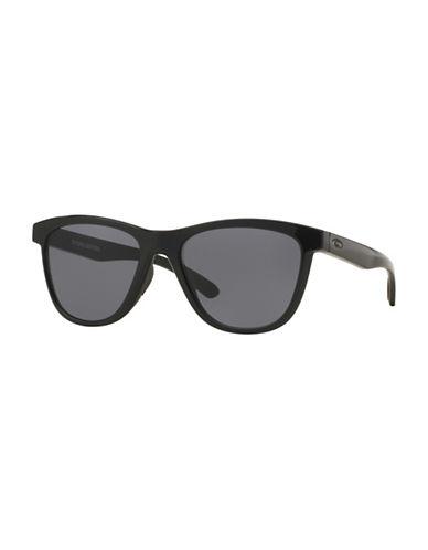 Oakley Moonlighter 53mm Wayfarer Sunglasses-BLACK-One Size
