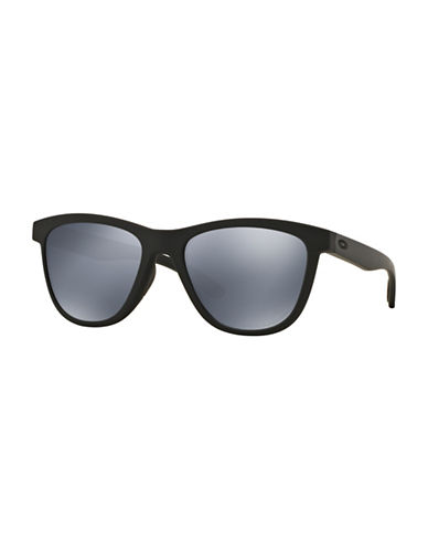 Oakley Moonlighter 53mm Wayfarer Sunglasses-BLACK/GREY-One Size