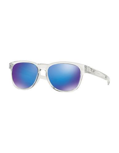 Oakley Stringer Mate 55mm Wayfarer Sunglasses-CLEAR-One Size