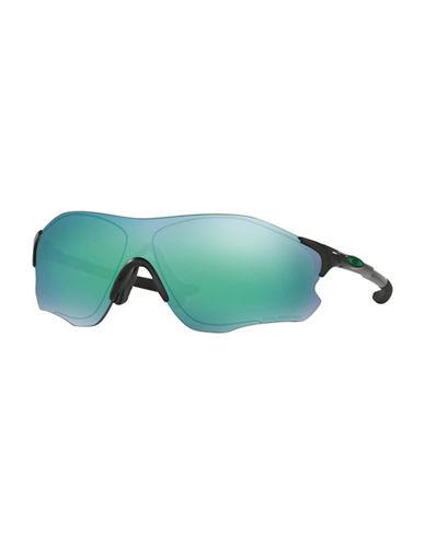 Oakley EVZero Path 38MM Wrap Sunglasses-BLACK-One Size