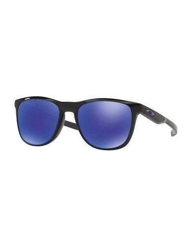 Oakley Trillbe X 52MM Square Sunglasses-BLACK-One Size