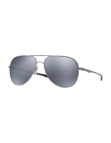 Oakley Elmont 58mm Aviator Sunglasses-GREY-One Size