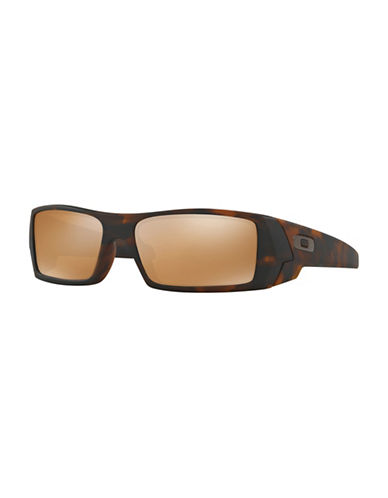 Oakley Gas Can Matte Tort 60mm Sunglasses-BROWN-One Size