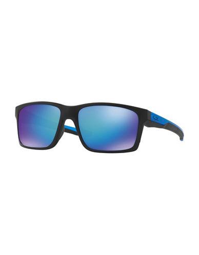 Oakley Mainlink 57MM Square Sunglasses-BLACK-One Size