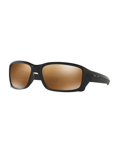 Oakley Straightlink 58MM Square Sunglasses-BLACK-One Size