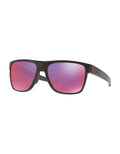 Oakley Crossrange XL 58MM Sunglasses-BLACK-One Size