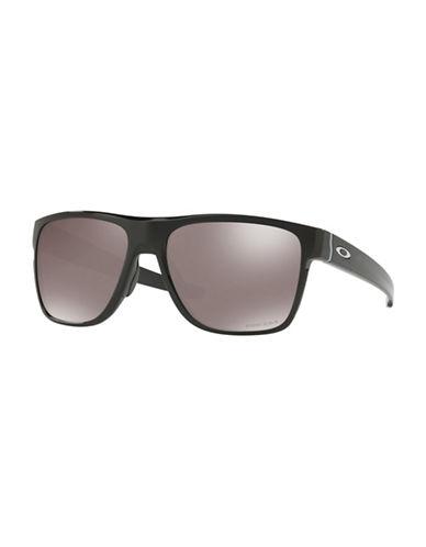 Oakley Crossrange XL 58MM O-Matter Square Sunglasses-BLACK-One Size