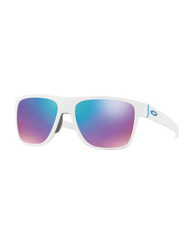 Oakley Crossrange XL 58MM Gradient Square Sunglasses-WHITE-One Size