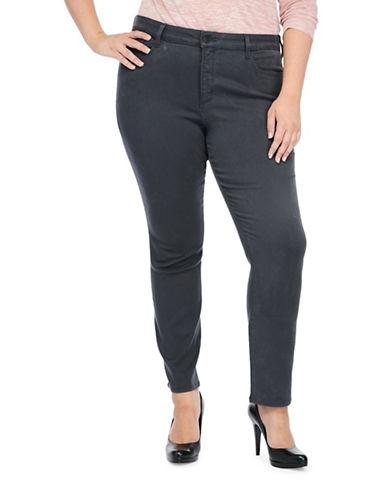 Nydj Plus Plus Plus Jade Denim Leggings-GREY-18W plus size,  plus size fashion plus size appare