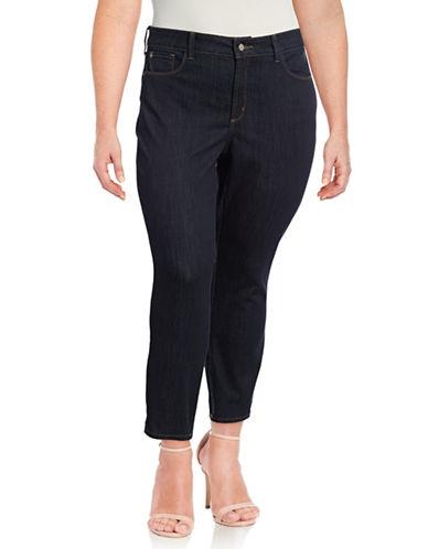 Nydj Plus Plus Alina Ankle Jeans-BLUE-22W