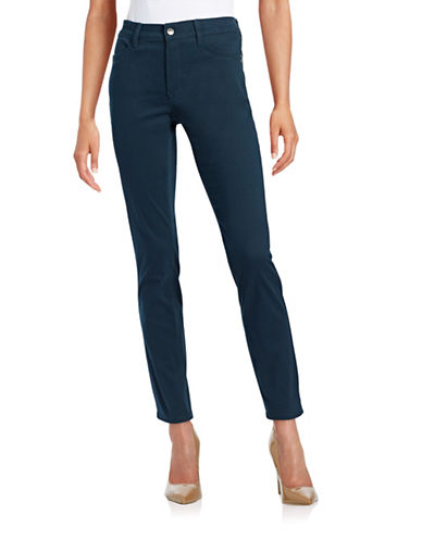 Nydj Sheri Slim-Fit Pants-BLUE-4