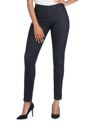 Nydj Poppy Denim Pull-On Leggings-BLUE-12